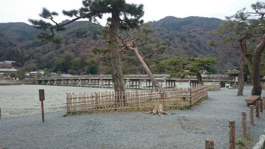京都市 嵐山 渡月橋