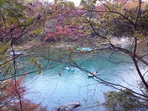 京都府京都市 紅葉の嵐山