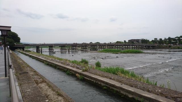 京都市、嵐山・渡月橋