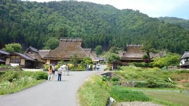京都・美山 かやぶきの里