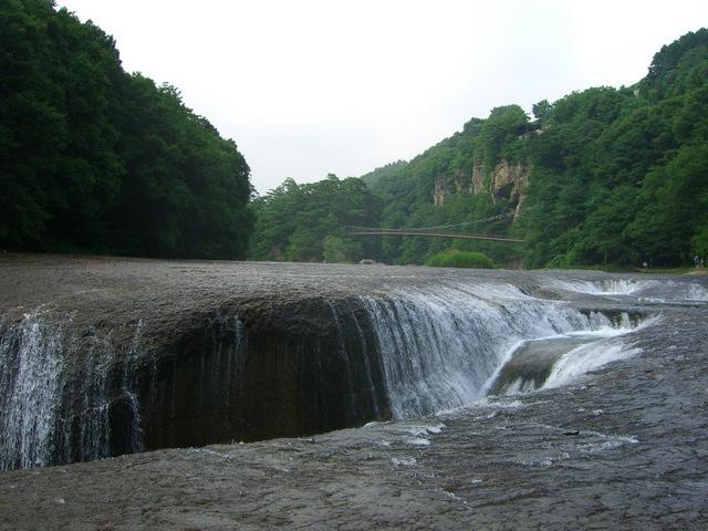群馬県沼田市 吹割の滝