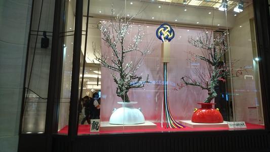 阪急百貨店うめだ本店の見事な飾りを拝借、その一