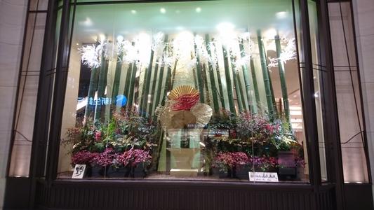 阪急百貨店うめだ本店の見事な飾りを拝借、その二