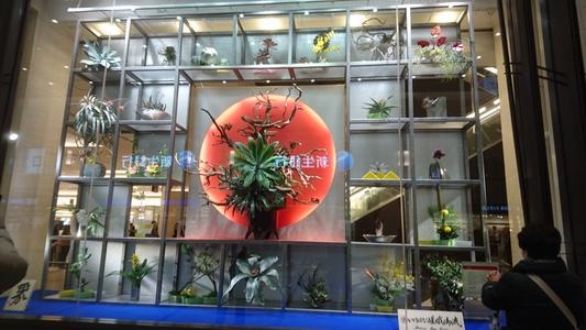 阪急百貨店うめだ本店の見事な飾りを拝借、その三