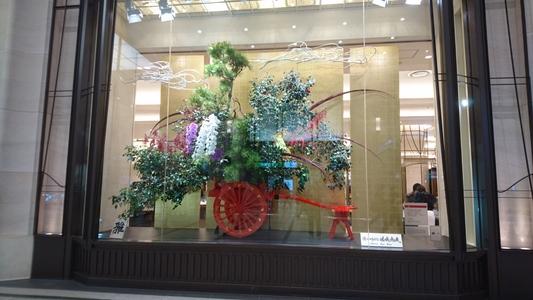 阪急百貨店うめだ本店の見事な飾りを拝借、その五